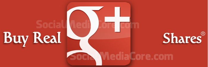 Buy Real Google Plus Shares