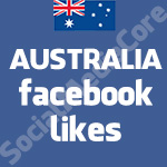 Australian Australia Facebook Likes