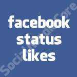 Facebook Status and Comment likes