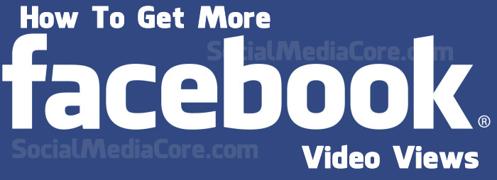 Buy Facebook Video Views And Get More Video Views On Facebook