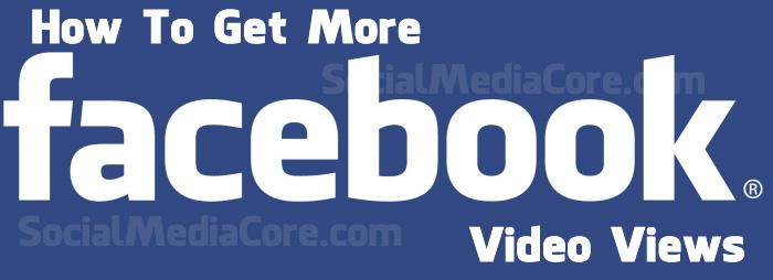 Buy Facebook Video Views And Get More Video Views On Facebook